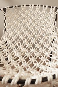 Makrome İpinden Hamak Sandalye Yapılışı 4