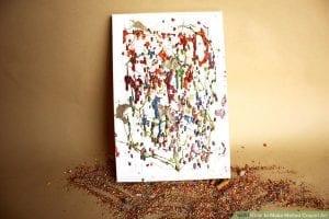 Mum Boya ile Kanvas Tablo Nasıl Yapılır? 10