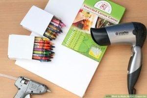 Mum Boya ile Kanvas Tablo Nasıl Yapılır?