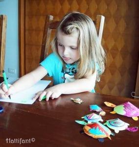 Okul Öncesi Etkinlik Kaplumbağa Mandala Yapımı 11