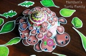 Okul Öncesi Etkinlik Kaplumbağa Mandala Yapımı 13