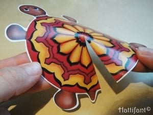 Okul Öncesi Etkinlik Kaplumbağa Mandala Yapımı 8