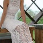 Örgü Bayan Elbise Modelleri 21