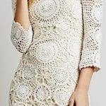 Örgü Bayan Elbise Modelleri 30