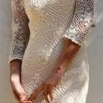 Örgü Bayan Elbise Modelleri 31