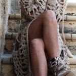 Örgü Bayan Elbise Modelleri 35