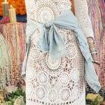 Örgü Bayan Elbise Modelleri 36
