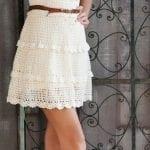 Örgü Bayan Elbise Modelleri 50