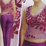 Örgü Bayan Elbise Modelleri 82