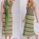 Örgü Bayan Elbise Modelleri 87