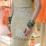 Örgü Bayan Elbise Modelleri 8