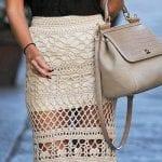 Örgü Bayan Elbise Modelleri 90
