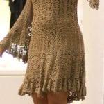 Örgü Bayan Elbise Modelleri 94