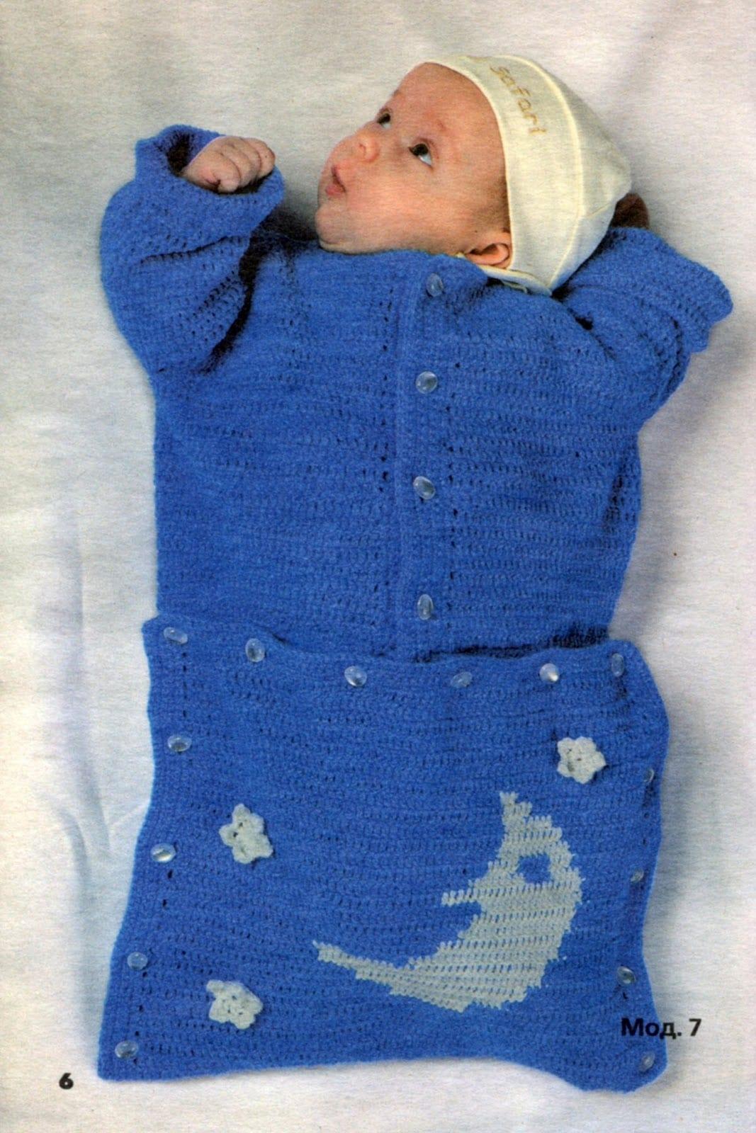 Вязание спицами для новорожденных - описание, схемы, мастер-класс и фото 85