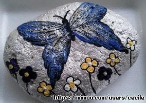cecile'in taş boyama dünyası:)