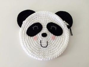 Tığ İşi Sevimli Panda Çanta Yapılışı 5