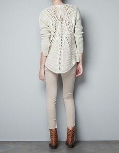 Zara Pembe Kazak Modeli Yapılışı 21