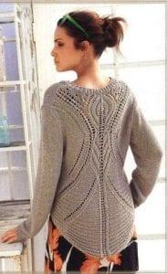 Zara Pembe Kazak Modeli Yapılışı 23