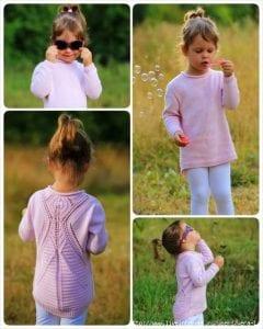Zara Pembe Kazak Modeli Yapılışı