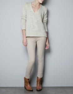 Zara Pembe Kazak Modeli Yapılışı 25