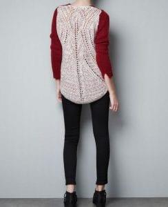 Zara Pembe Kazak Modeli Yapılışı 26