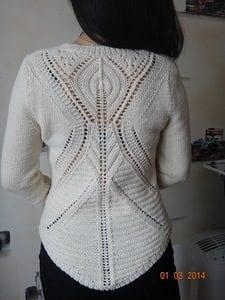 Zara Pembe Kazak Modeli Yapılışı 29