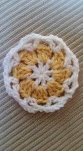 Çiçekli Battaniye Modeli Yapılışı 10