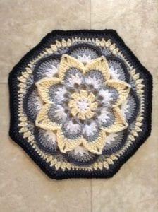 Çiçekli Battaniye Modeli Yapılışı 11