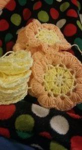 Çiçekli Battaniye Modeli Yapılışı 16