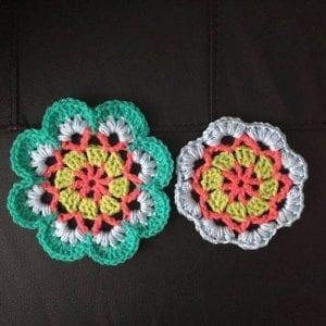 Çiçekli Battaniye Modeli Yapılışı 1