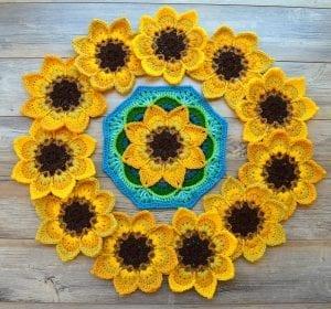 Çiçekli Battaniye Modeli Yapılışı 26