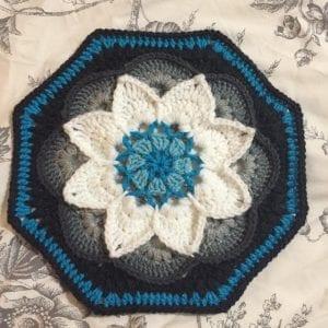 Çiçekli Battaniye Modeli Yapılışı 31