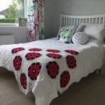 Çiçekli Battaniye Modeli Yapılışı 8