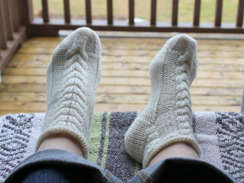El Örgü Çorap Modelleri ve Örnekleri 9