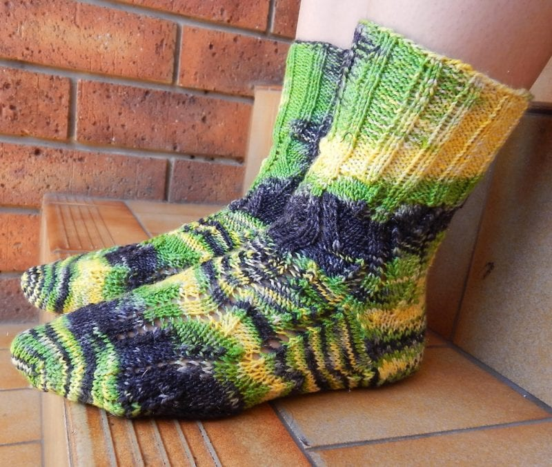 El Örgü Çorap Modelleri ve Örnekleri 10