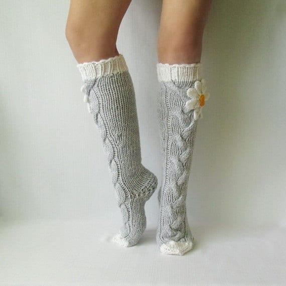 El Örgü Çorap Modelleri ve Örnekleri 14