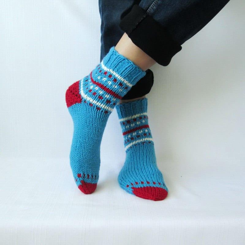 El Örgü Çorap Modelleri ve Örnekleri 1