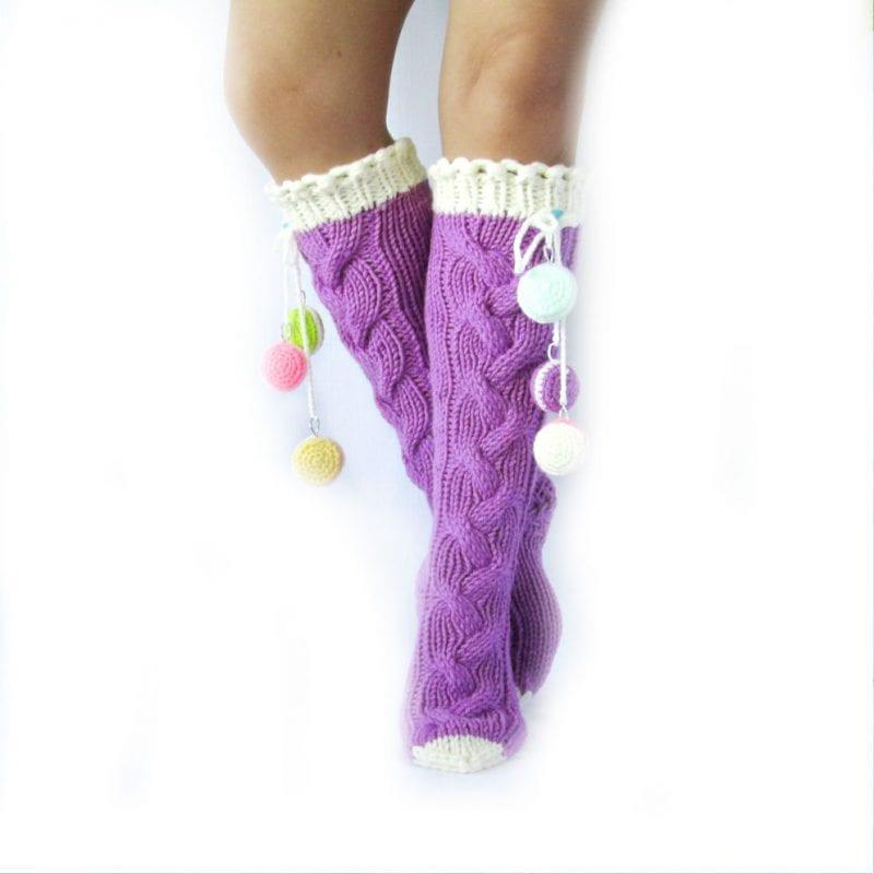 El Örgü Çorap Modelleri ve Örnekleri 21