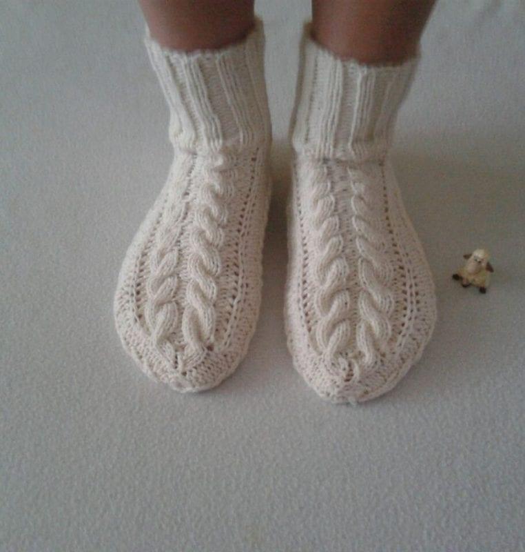 El Örgü Çorap Modelleri ve Örnekleri