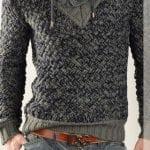 El Örgüsü Erkek Kazak Modelleri 136