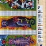 Etamin Modelleri ile Kitap Ayraçları 160