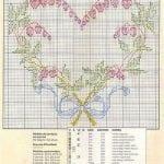 Etamin Şablonları Kalp Desenleri 12