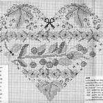 Etamin Şablonları Kalp Desenleri 14