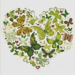 Etamin Şablonları Kalp Desenleri 1