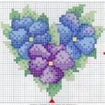 Etamin Şablonları Kalp Desenleri 21