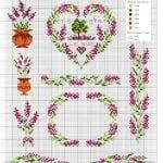 Etamin Şablonları Kalp Desenleri 25
