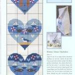 Etamin Şablonları Kalp Desenleri 2