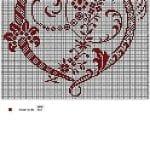 Etamin Şablonları Kalp Desenleri 31