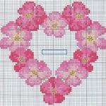 Etamin Şablonları Kalp Desenleri 33