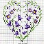 Etamin Şablonları Kalp Desenleri 35